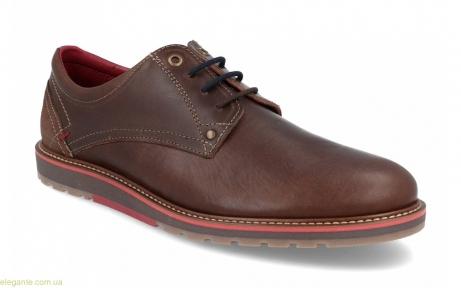 Мужские туфли перешитые DJ Santa коричневые