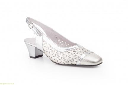 Женские туфли JAM серебряные