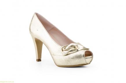 Женские туфли TORNADO золотые  от Jennifer Pallares