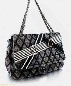 Жіноча сумочка на плече JEANS чорна