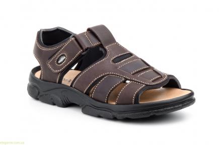 Мужские сандали MORXIVA BIO коричневые