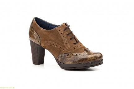 Женские туфли  Agatha Shoes коричневые
