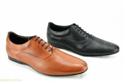 Мужские туфли оксфорды праздничные BECOOL коричневые