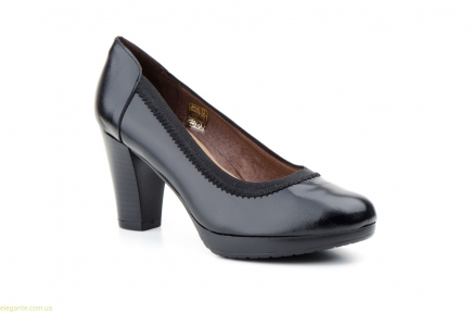Женские туфли на каблуке JAM чёрные