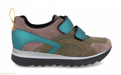 Жіночі кросівки VIDA колір хакі