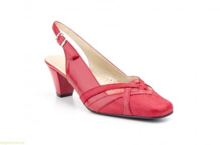 Женские туфли JAM3 красные