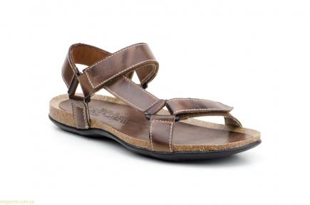 Мужские сандали открытие PEPE AGULLO коричневые