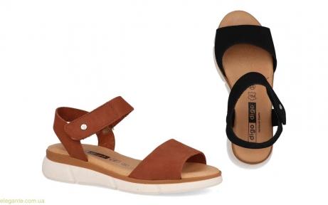 Женские сандалии на липучке Digo