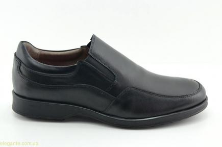 Мужские туфли COMODOSAN чёрные