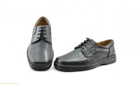 Мужские туфли CACKOY xxl чёрные
