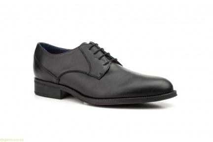 Чоловічі туфлі дербі SCN2 чорні
