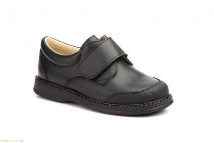Детские школьные туфли SERNA1 чёрные