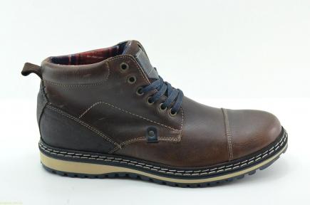 Мужские ботинки DJ SANTA4 коричневые