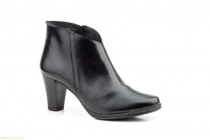 Жіночі черевики на каблуку JAM1 чорні