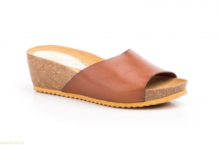 Женские шлепанцы JAM LIMON коричневые