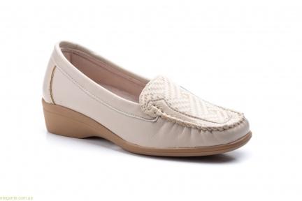 Жіночі туфлі Antonella Лайкра бежеві