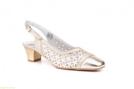 Женские туфли JAM золотистые