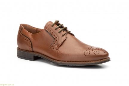 Мужские туфли дерби KEELAN Ingles коричневые