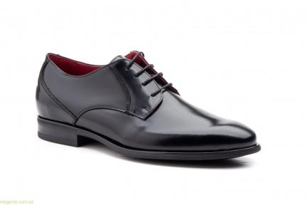 Чоловічі туфлі дербі KEELAN чорні класичні