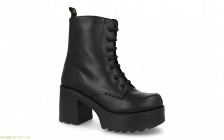 Женские ботинки на каблуку JARPEX чёрные
