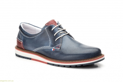 Чоловічі туфлі Pepe Agullo Picados сині