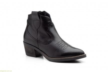 Женские ковбойские ботинки Par y Medio чёрные