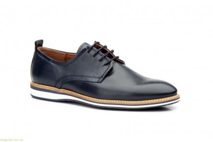 Мужские туфли дерби гладкие KEELAN синие