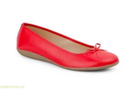 Женские балетки  MISTRAL красные