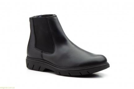 Мужские ботинки еластические Keelan чёрные