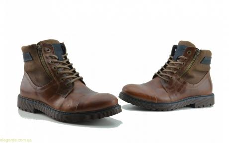 Чоловічі черевики Nautic Blue1 коричневі