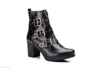 Жіночі черевики з пряжками JAM чорні