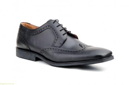 Мужские туфли дерби CARLO GARELLI xxl чёрные