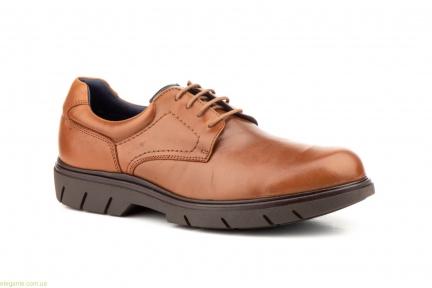 Чоловічі туфлі дербі KEELAN коричневі