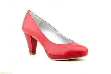 Жіночі туфлі на каблуку  ANNORA червоні