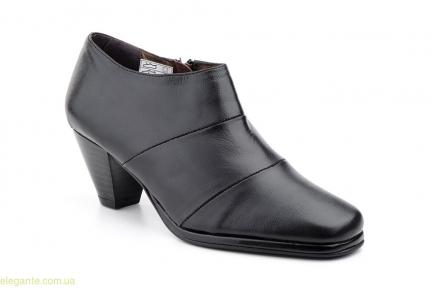 Женские туфли на молнии JAM чёрные