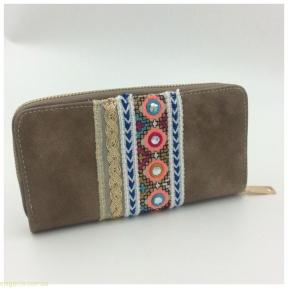 Женский бумажник JUVENIL  коричневый