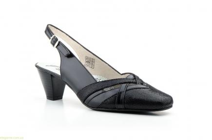 Женские туфли JAM3 чёрные