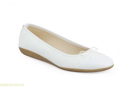 Жіночі балетки MISTRAL білі