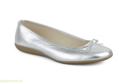 Жіночі балетки MISTRAL срібні