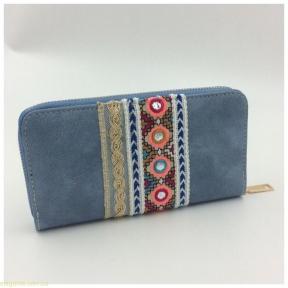 Женский бумажник JUVENIL  синий