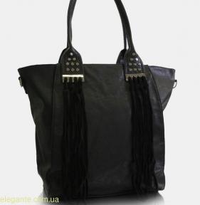 Женская сумка с полосками