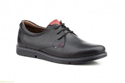 Мужские туфли PEPE AGUILLO чёрные