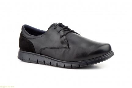 Чоловічі туфлі на шнурівках KEELAN2 чорні