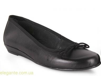 Жіночі балетки FIORDI чорні