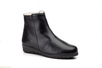 Женские ботинки на меху JAM чёрные