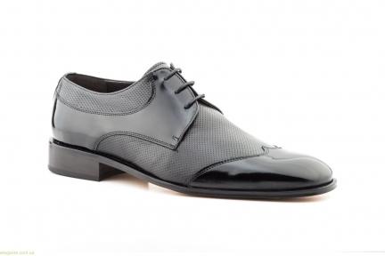 Чоловічі туфлі дербі Nikkoe чорні
