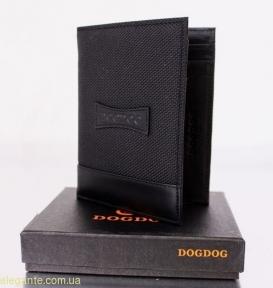 Мужской бумажник DOGDOG черный