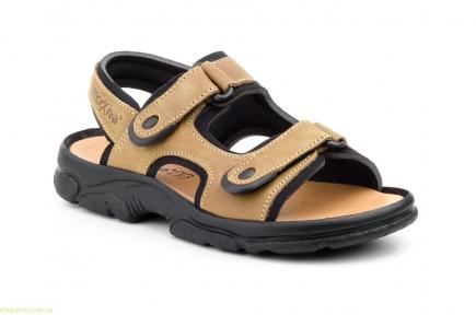 Мужские сандалии MORXIVA светло-коричневые