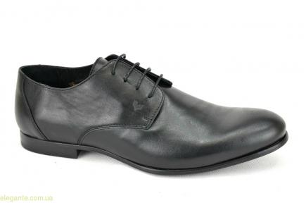 Мужские кожаные туфли BECOOL чёрные