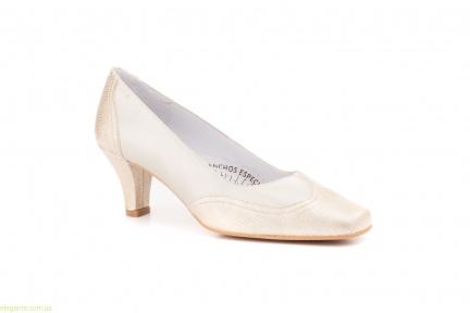 Женские туфли JAM1 золотистые